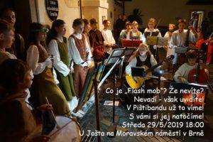 Flashmob v Brně