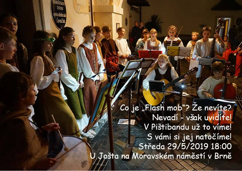 Flash mob v Brně